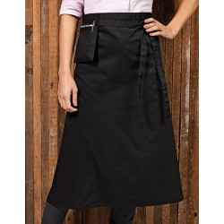 ZAPASKA BISTRO APRON WITH FRONT POCKET