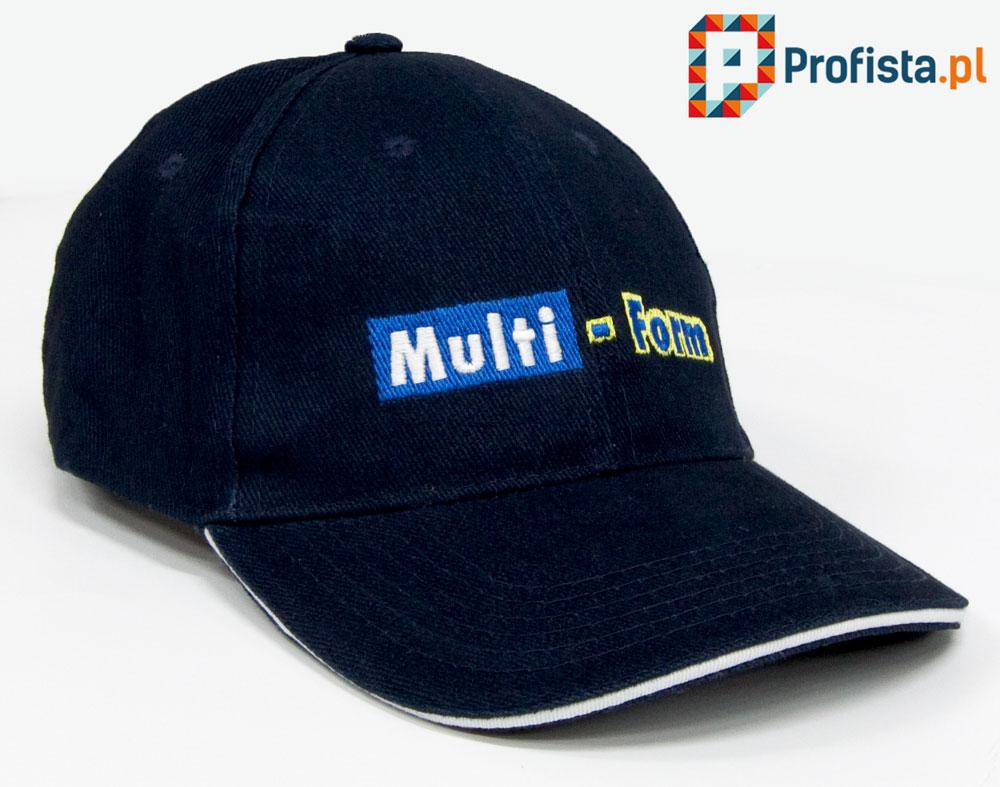 haft na czapce z daszkiem