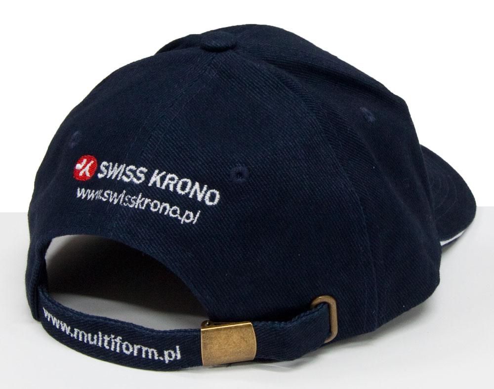 haft na zapięciu czapki