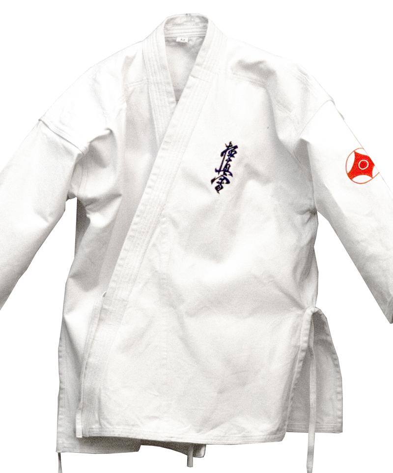 haft na kimonie