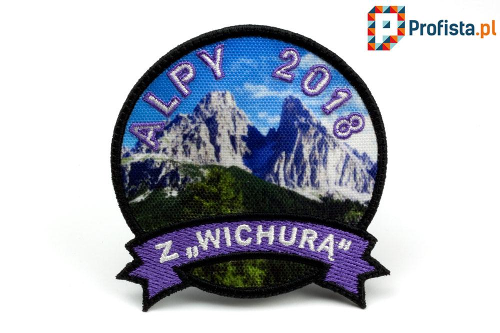 haftowana odznaka górska