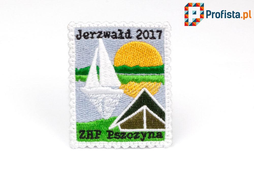 naszywka znaczek pocztowy