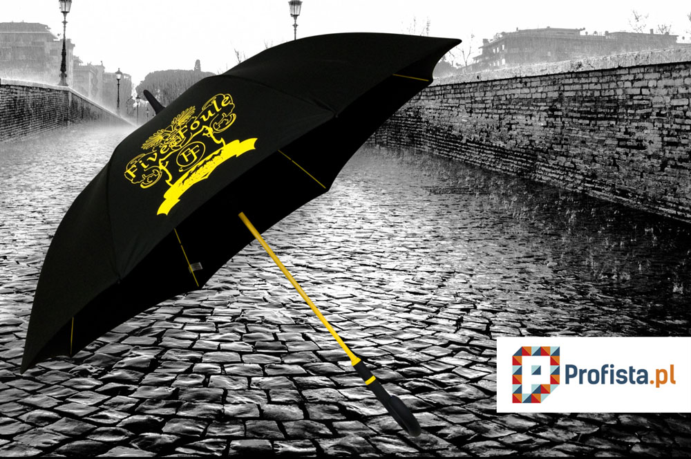 nadruk flex na parasolu