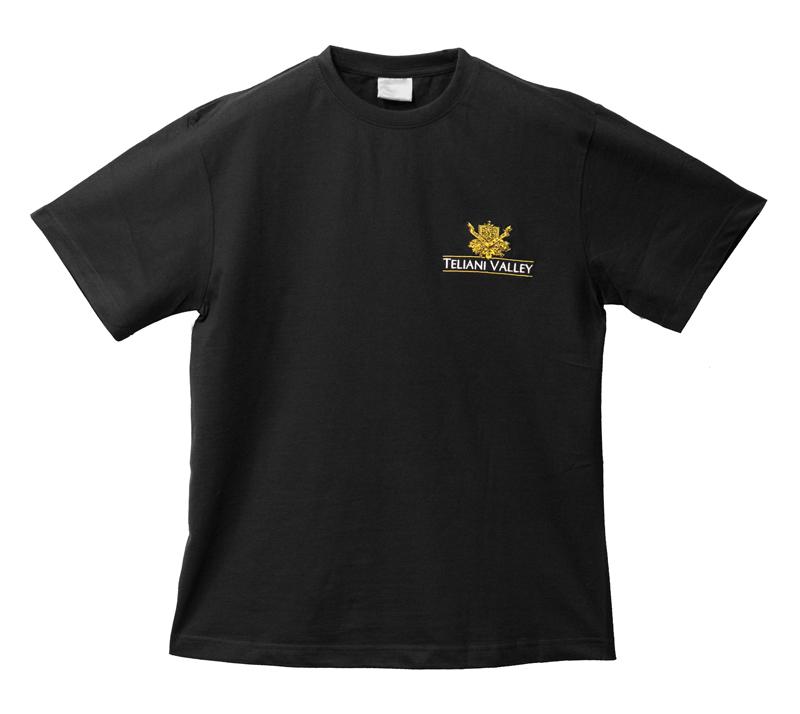 tshirt z wyszywanym logo